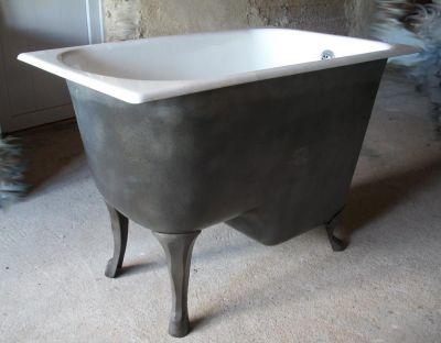 baignoire en fonte ancienne rénovée recyclée baignoire fonte ...