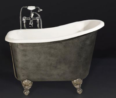 baignoire en fonte ancienne r nov e recycl e baignoire fonte ancienne salle de bains. Black Bedroom Furniture Sets. Home Design Ideas