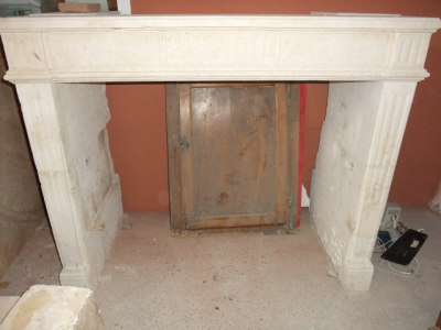 chemin e en pierre ancienne ref 6 chemin e en pierre ancienne b chu mat riaux anciens. Black Bedroom Furniture Sets. Home Design Ideas