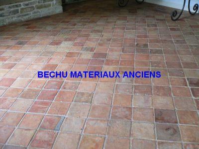 Tomette ancienne carreau de terre cuite ancien carrelage for Achat carrelage ancien